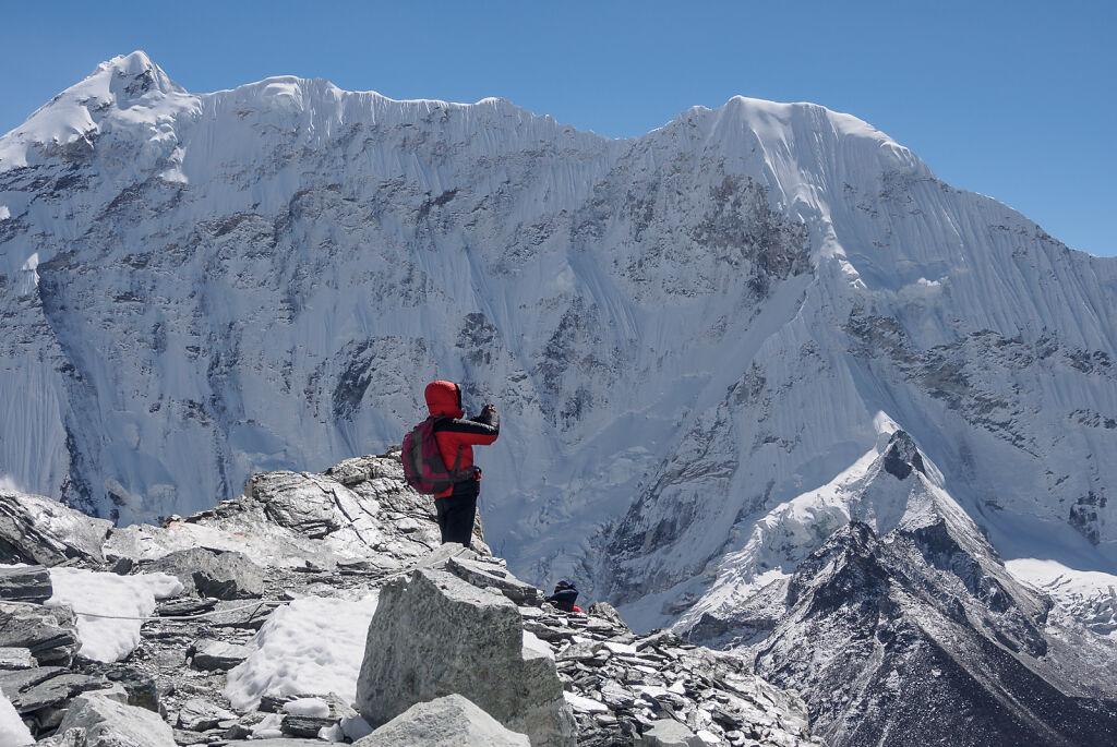 Imja Valley and Island Peak